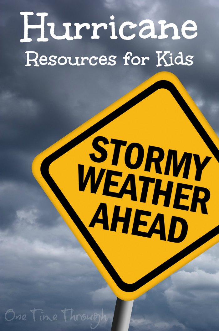 hurricane resources for kids