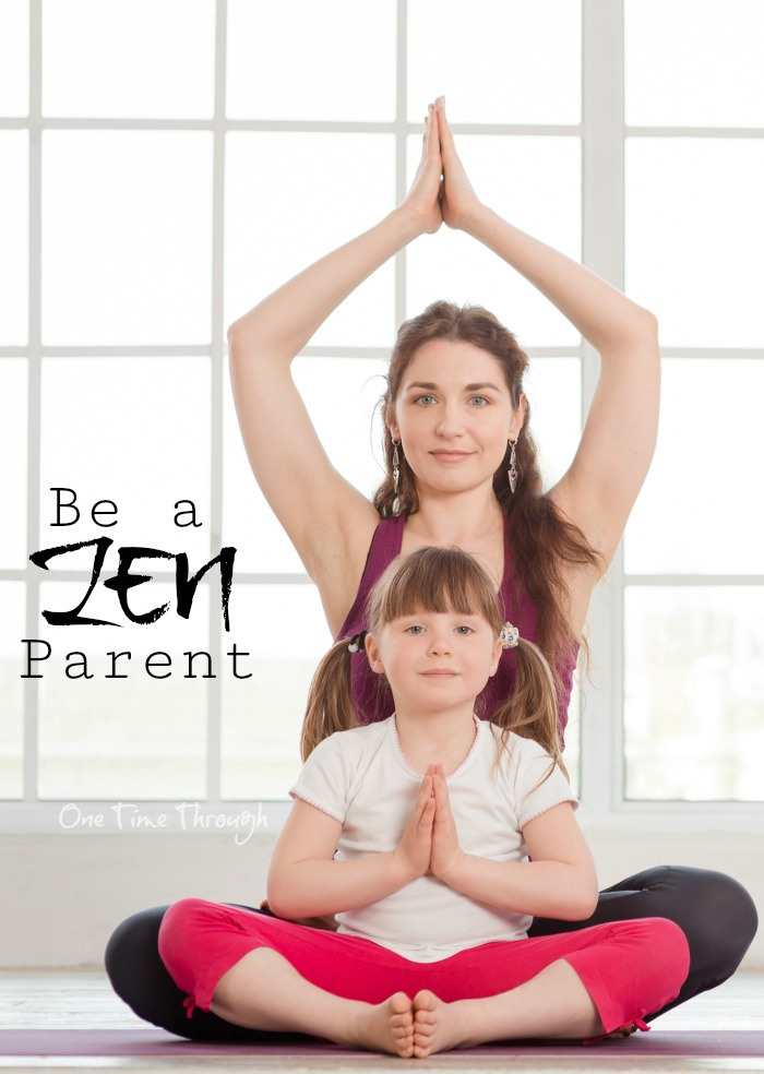 Zen Parent pin
