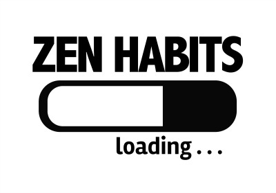 zen habits loading