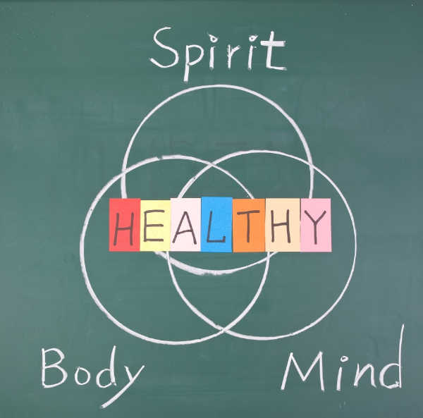 spirit mind body healthy venn