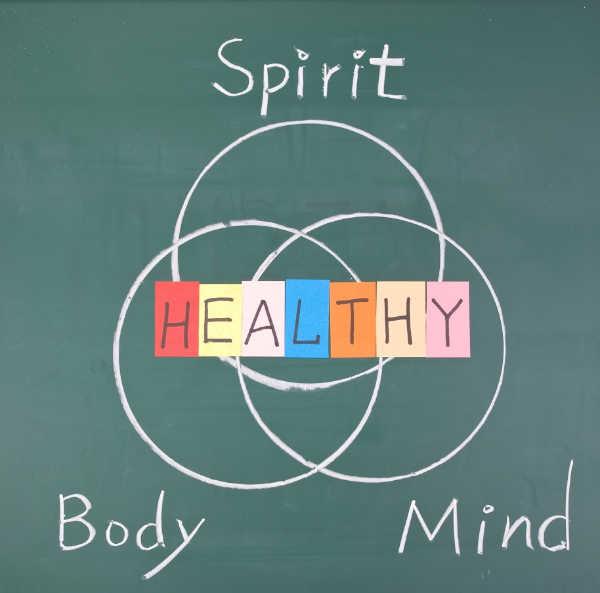 spirit mind body healthy venn