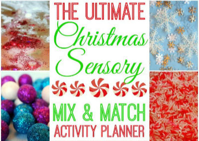 christmas sensory activity planner