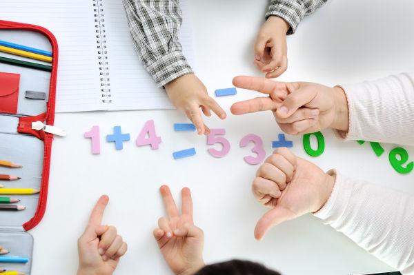 teaching math at home