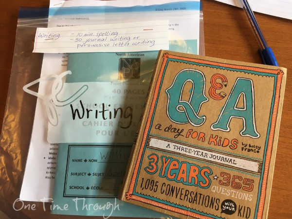 writing lessons for homeschoolers
